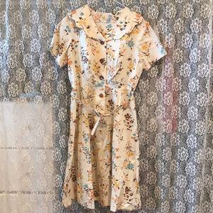 1950s Women's Vintage Dress